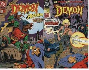 DEMON (1990) 23-24  vs ROBIN