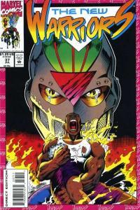 New Warriors (1990 series) #37, NM (Stock photo)