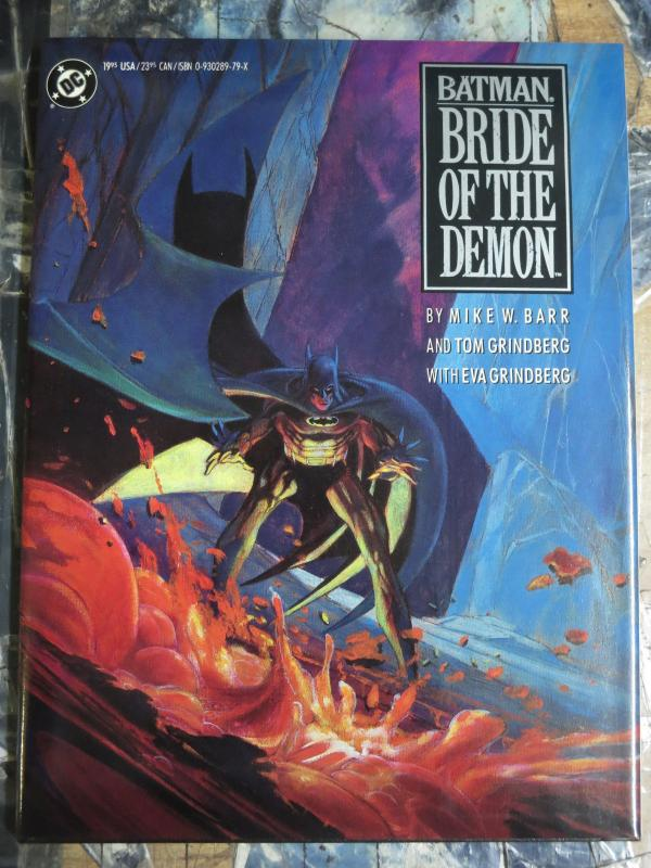 Batman: Bride of the Demon  by Mike W.  Barr,Tom & Eva Grindberg Talia Al Ghul