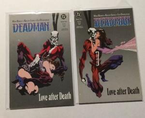 Deadman Love After Death 1 & 2 NM Near Mint