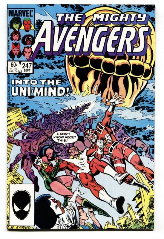 AVENGERS #247 Eternals issue - comic book Marvel NM-