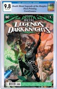 Death Metal Legends of the Dark Knights #1  CGC 9.8  1st Print PRE-ORDER 8/4/20