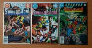 Sword of the Atom Special 1-3 Complete Set Run! ~ NEAR MINT NM ~ 1984 DC Comics