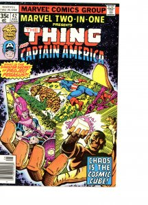 Marvel Two-In-One 42 F/VF   Captain America!