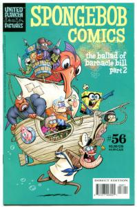 SPONGEBOB #56, NM, Square pants, Bongo, Cartoon comic, 2011, more in store