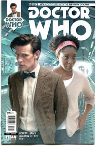 DOCTOR WHO #7 C, VF/NM, 11th, Tardis, 2014, Titan, 1st, more DW in store, Sci-fi