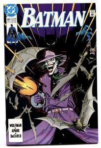 Batman #451 comic book 1991-DC JOKER cover NM-