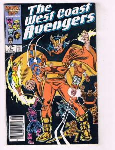 10 West Coast Avengers Marvel Comic Books # 9 11 13 14 16 19 27 30 31 37 J65