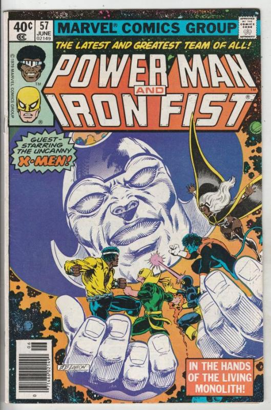 Power Man and Iron Fist #57 (Jun-79) VF/NM+ High-Grade Luke Cage, Iron Fist