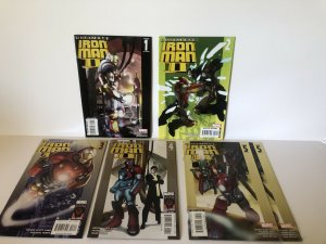 Ultimate Iron Man 2   #1 -5 Complete Set Lot Of 6