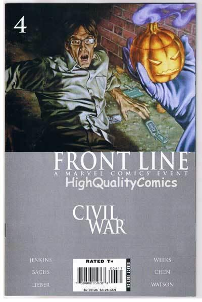 CIVIL WAR : FRONT LINE #4, NM-, Jenkins, Lieber, Bachs, 2006, more in store