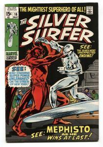 Silver Surfer #16 comic book 1970 Marvel-Mephisto HIGH GRADE