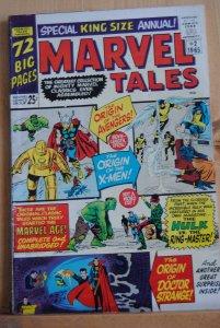 Marvel Tales Annual #2,  1965  High Grade!