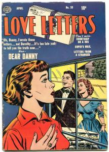 Love Letters #33 1953- Golden Age Romance- VG