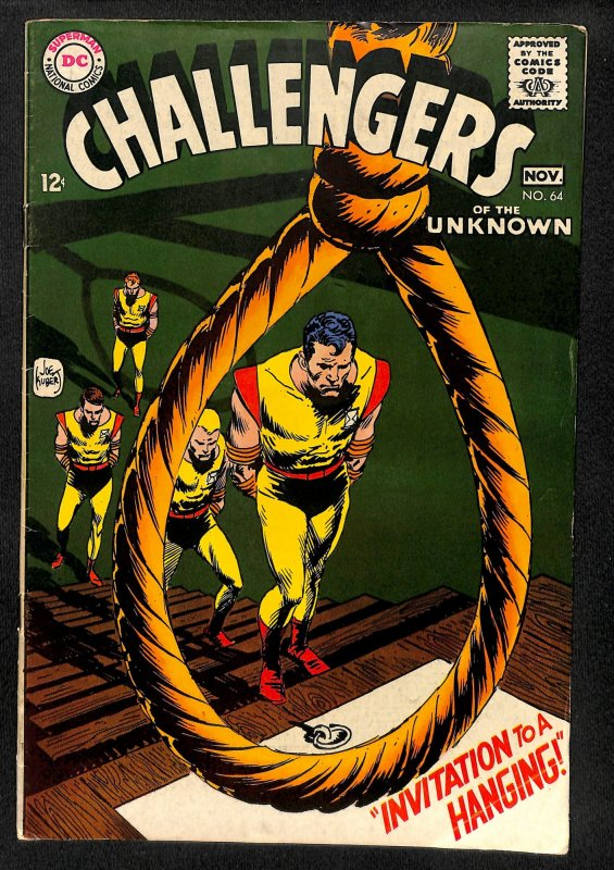 Challengers of the Unknown #64 (1968)