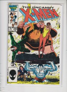 THE UNCANNY X-MEN #206 1996 MARVEL / NEVER READ / NM