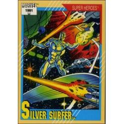 1991 Impel Marvel Universe: Series 2 SILVER SURFER #45