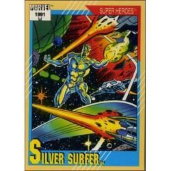 1991 Impel Marvel Universe: Series 2 SILVER SURFER #45
