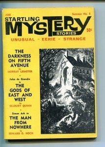 STARTLING MYSTERY STORIES-SUMMER-#5-196F-FN/VF-LEINSTER- QUINN-FINDLAY  FN/VF