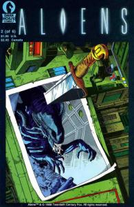 Aliens (Vol. 1) #2 (2nd) FN; Dark Horse | save on shipping - details inside
