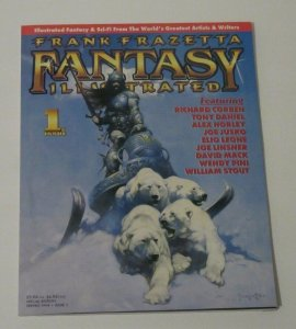 Frank Frazetta Fantasy Illustrated #1 Special Edition Magazine Spring 1998