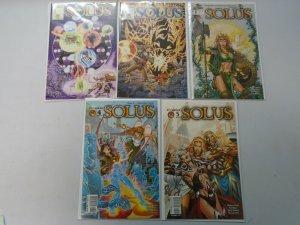 Solus CrossGen Run: #1-5 8.0 VF (2003)
