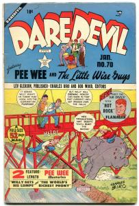 Daredevil #70 1950- Elephant cover- Intro Air Devils VG/F