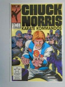 Chuck Norris Karate Kommandos #1 8.0 VF (1987 Star Comics)