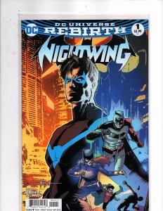 DC Comics Nightwing #1 Batman [Bruce Wayne]; Batgirl [Barbara Gordon]; Robin
