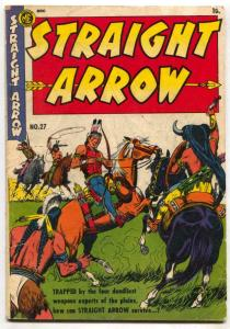 Straight Arrow #27 1952-ME-Fred Maegher art-Indian stories-VG