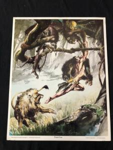 Neal Adams signed Tarzan Print Plate Five with COA