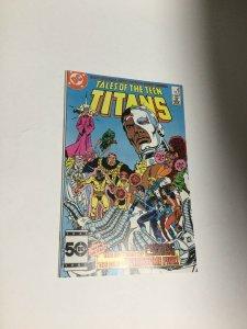 Tales Of The Teen Titans 58 Nm Near Mint DC Comics