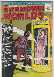 Unknown Worlds #36 (Jan-64) FN Mid-Grade