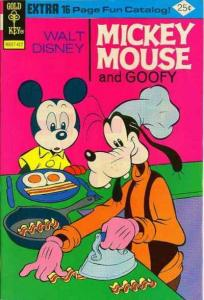 Mickey Mouse #153, VG+ (Stock photo)