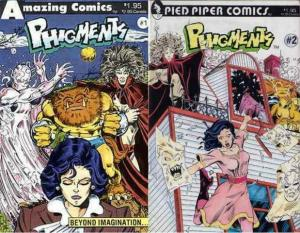 PHIGMENTS (AMAZING PIED PIPER) 1-2  EVAN DORKIN