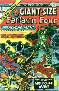 Marvel GIANT-SIZE FANTASTIC FOUR #5 VG