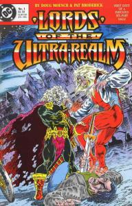 Lords of the Ultra-Realm #1 VF; DC | save on shipping - details inside