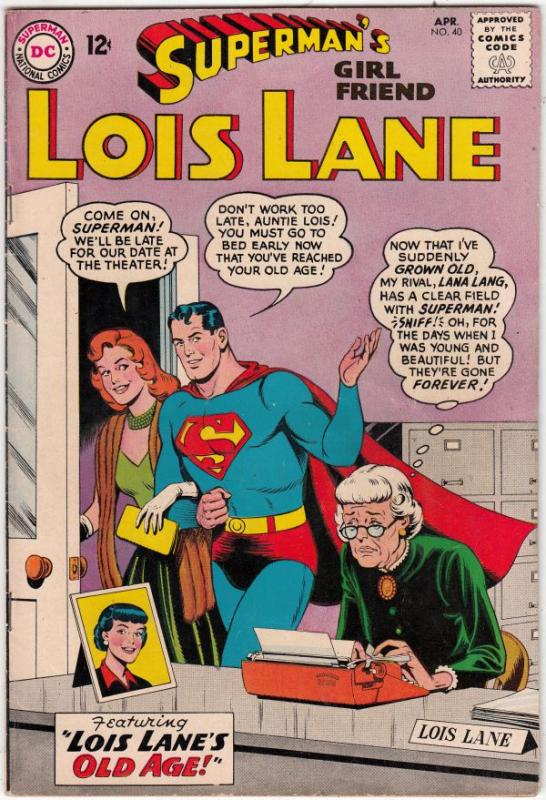 Superman's Girlfriend Lois Lane #40 (Apr-63) VF+ High-Grade Superman, Lois Lane