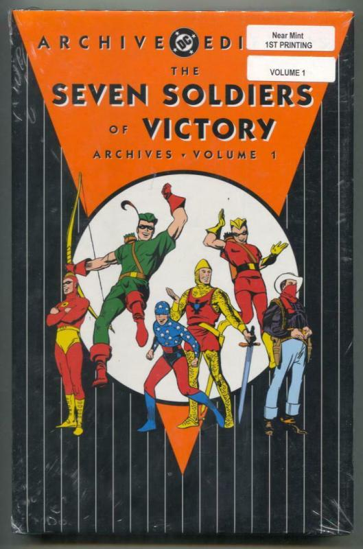 Seven Soldiers of Victory Archive Edition 1 hardcover