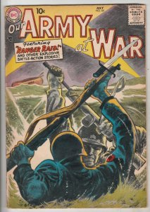 Our Army at War #60 (Jul-57) FN Mid-Grade