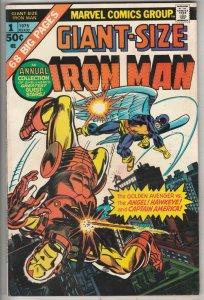 Giant-Size Iron Man #1 (Jan-75) VF/NM High-Grade Iron Man