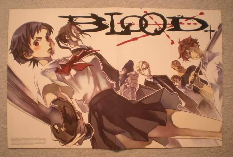 BLOOD / DISCOVER HEROES Promo Poster, 2008, Unused, more in our store