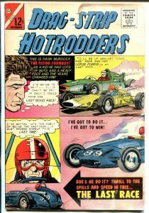 Drag-Strip Hotrodders #7 1965-Charlton-USAC cars-Lotus Ford cover-G