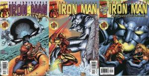IRON MAN (1998) 23-25 Ultimate Danger vs Ultimo...?!? COMICS BOOK
