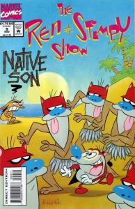 Ren & Stimpy Show #9 VF/NM; Marvel   save on shipping - details inside