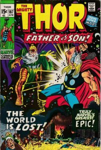 The Mighty Thor 187 VF-