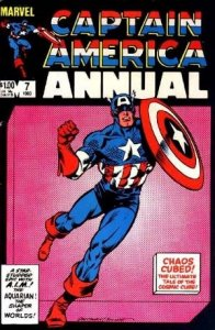 Captain America Annual #7 stock photo ID#B-1