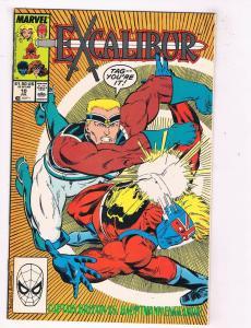 Excalibur #10 VF/NM Marvel Comics Comic Book X-Men Jul 1989 DE46