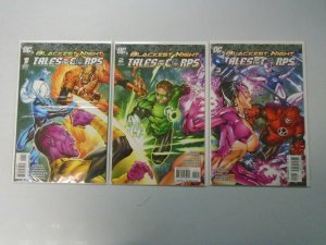 Blackest Night Tales of the Corps set #1-3 8.0 VF (2009)