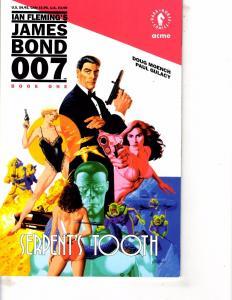 Lot Of 2 Comic Books Dark Horse James Bond 007 #1 and Bravura Breed #1  WT21